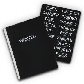 Notebook 19x25 cm