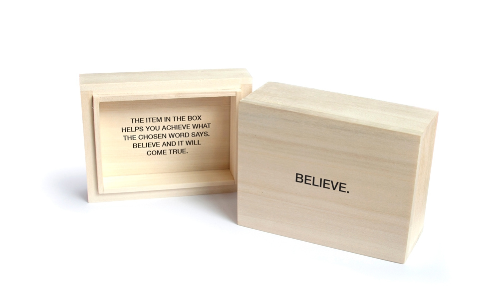 Naturale wood box